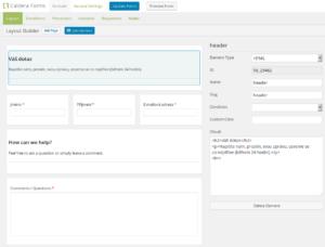 Caldera Forms: Jak umožnit správu uživatelům, kteří nejsou správci