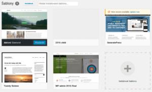Instalace šablon ve WordPressu