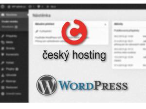 Jak nainstalovat WordPress u Českého hostingu