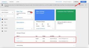 Uložení konfigurace celé služby Analytics